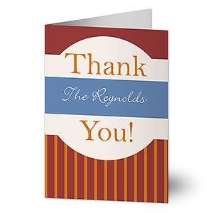 Personalized Greeting Cards - Thank You - 10579