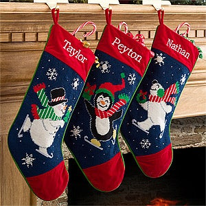 Personalized Needlepoint Christmas Stockings - 10602