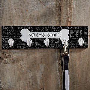 Personalized Dog Leash Holder - Dog Stuff - 10646