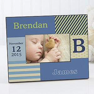 Baby Boy Personalized Picture Frames - 10649