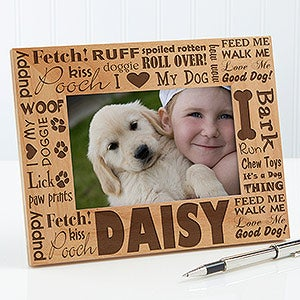 personalized dog picture frames good dog 10683 - Dog Frame