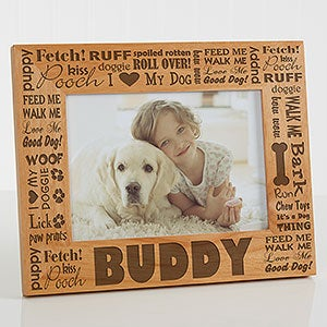 Personalized Dog Picture Frames - Good Dog - 10683