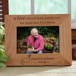 Personalized Memorial Picture Frame - Forever Loved - 10778