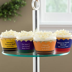 Personalized Cupcake Wrappers - You Name It - 10801