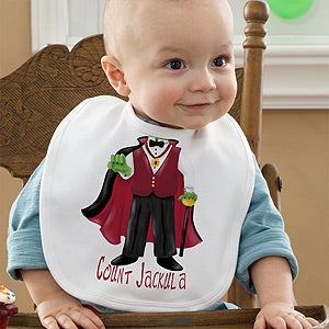 Personalization Mall Personalized Halloween Baby Bibs - Vampire at Sears.com