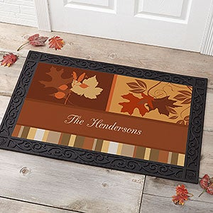 Personalized Doormats - Happy Autumn - 10815