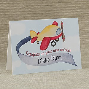 Personalized Baby Greeting Cards - Newest Arrival - 10824