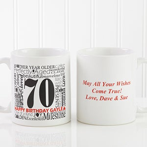 Personalized Birthday Coffee Mug - Another Year Has Gone By - 10835