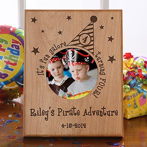 Personalization Mall Personalized Birthday Picture Frames - Birthday Party Hat at Sears.com