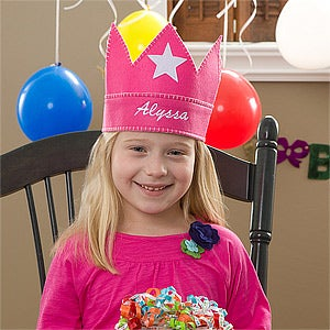 Personalized Birthday Crowns for Kids - 10870