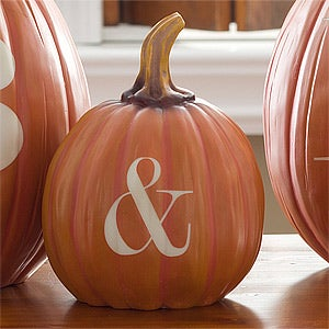 Personalization Mall Personalized Halloween Pumpkins - Initials - Small at Sears.com