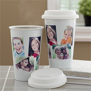 Personalized Photo Travel Tumbler - 10878