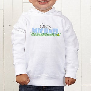 Personalization Mall Personalized Kids Easter Clothes - Bunny Ears Hooded Sweatshirt at Sears.com