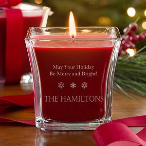 Personalized Christmas Candles - Spirit of Christmas ...