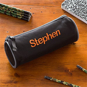 Personalized Boys Pencil Case & Pencil Set - 11029