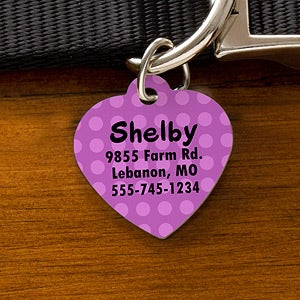 Personalized Pet ID Tags - Choose Your Design - 11050
