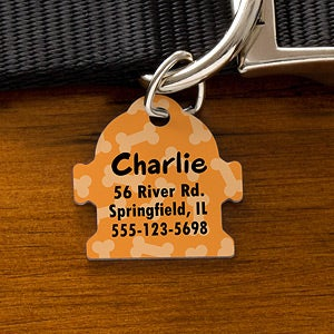 Personalization Mall Personalized Dog Identification Tags - Fire Hydrant at Sears.com