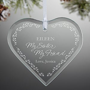 personalized christmas ornaments my sister 11078 - What To Get My Sister For Christmas