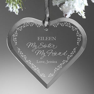 Personalized Christmas Ornaments - My Sister - 11078