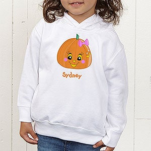 Personalized Halloween Pumpkin Shirts for Girls - 11097