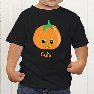 Personalized Halloween Pumpkin Shirts for Bous - 11098