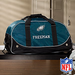 Personalized Philadelphia Eagles Rolling Duffel Bags - 11121