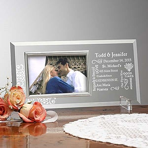 Personalization Mall Personalized Glass Picture Frames - Our Life Together at Sears.com