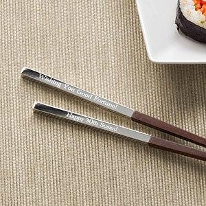 Personalized Chopstick Set - Happy Birthday - 11135