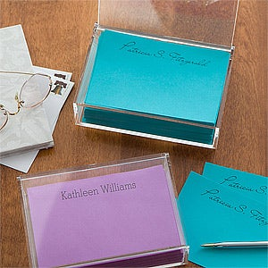 Personalized Notepads & Caddy - You Name It - 11145