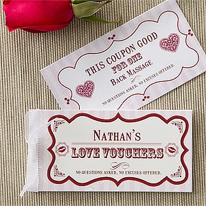 Personalization Mall Personalized Romantic Love Coupons - Create Your Own at Sears.com