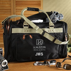 Personalized Corporate Embroidered Logo Duffel Bag - 11155