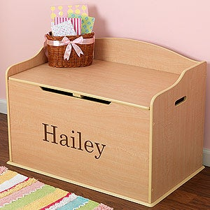 Personalized Toy Boxes - 11165D