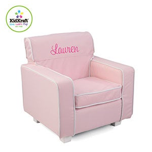Personalized Kids Furniture - Chair for Girls - 11180D