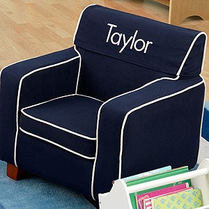 Personalized Kids Furniture - Chair for Boys - 11181D