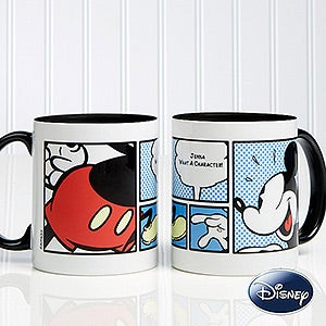 Personalized Mickey Mouse Coffee Mug - Disney