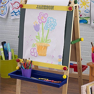 Personalized Artist Easel for Kids - 11188D