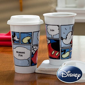 Personalized Disney Travel Tumbler - Mickey Mouse - 11191