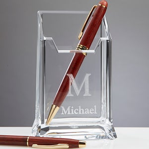 Personalized Pencil & Pen Holder - Initially Your - 11195