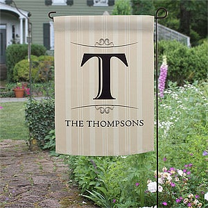 Personalized Garden Flags - Family Monogram - 11217
