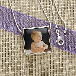 Personalized Photo Pendant Necklace - 11226D