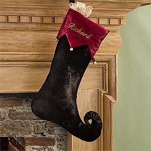 Personalized Christmas Stockings - Harlequin Holiday - 11227