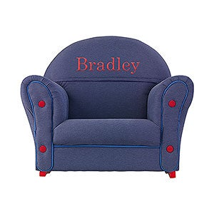 Kids Personalized Upholstered Rocking Chair - 11235D