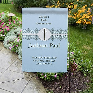 Personalization Mall Personalized First Communion Garden Flag at Sears.com