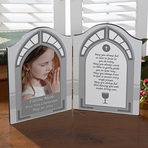 Personalized Photo Plaque - First Communion - 11259