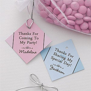 First Communion Party Favor Tags - Precious Prayer