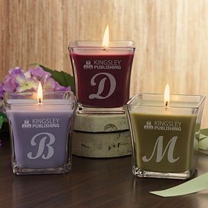 Corporate Logo Scented Spa Candle - 11268
