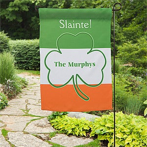Personalized Garden Flags - Irish Pride - 11285