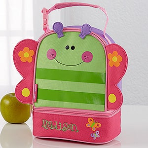 Girls Personalized Butterfly Lunch Bag - 11300