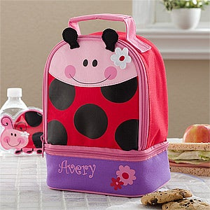 Personalized Lunch Bags - Ladybug - 11301