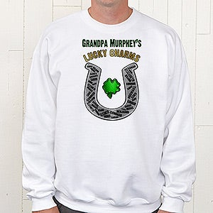 Personalized Grandpa Shirts - Lucky Charms - 11305